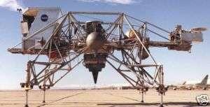 LLRV NASA Lunar Landing Research Vehicle Wood Model Big