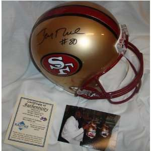 Jerry Rice Signed Helmet   Full Size
