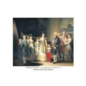 Francisco De Goya   Charles IV POSTER Canvas: Home