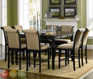 Dining Room Set Table Counter Height Cappuccino NEW