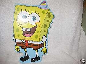 Spongebob Happy Birthday Card Jumbo (NEW)