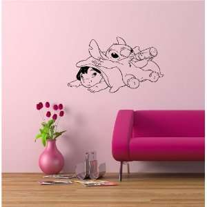 Lilo Stitch Wall Vinyl Sticker Mural Art Decal Baby Kids