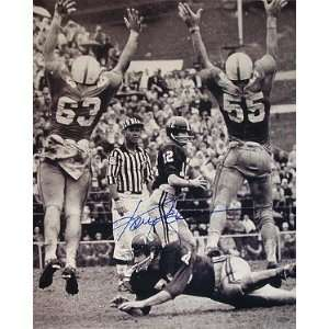 Ken Stabler signed Alabama Crimson Tide 16x20 B&W Sports