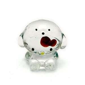 Hello Kitty ~ 2 Chinese Zodiac Glass Ornament   Dog Toys