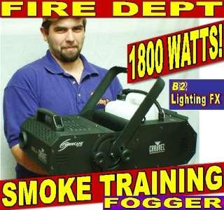 department smoke machine