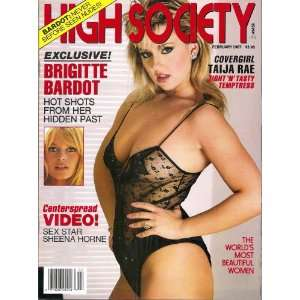High Society Magazine February 1987: High Society: Books