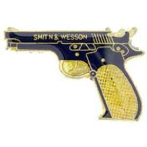 Smith & Wesson Pistol Pin 1 Arts, Crafts & Sewing