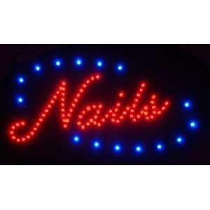 NAILS Monocolor Window Display LED Message Sign Electronics