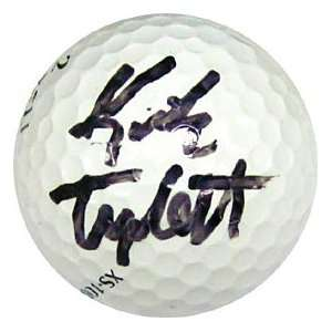 Kirk Triplett Autographed / Signed Golf Ball Sports