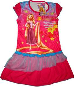 DISNEY PRINCESS RAPUNZEL Kid Party Dress Medium Age 4 5