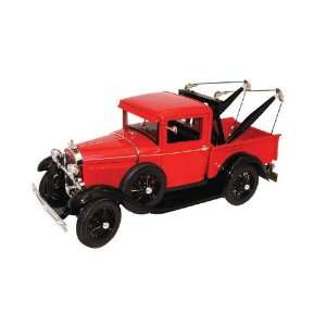 1/18 1931 Ford Model A Tow Truck (Red) Signature Models