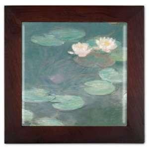 Monet Water Lilies (Close Up) Ceramic Trivet & Wall
