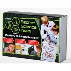 Secret Science Team Mission Kit Case File 1002 Toys & Games