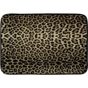 Cloud 9 Memory Foam Zebra Leopard Print Bath Mat Home Bathroom Floor