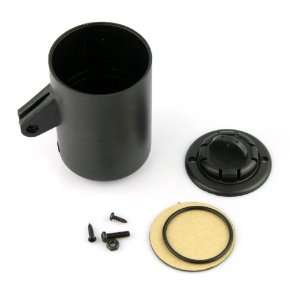 New Universal Black Single Motor Mini 52mm Swivel Meter Dash Mount Cup