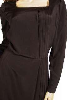 Vintage Black Silk Cocktail Dress Mary McFadden Circa 2000 Up