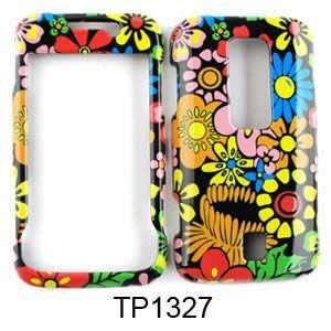 CELL PHONE CASE COVER FOR HUAWEI ASCEND M860 FLOWERS ON