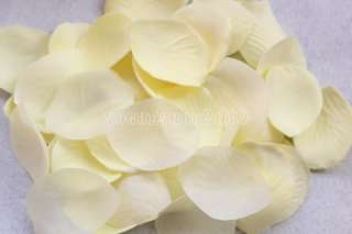 1000 pcs Fabric Silk Flower Rose Petals Wedding Party Decoration