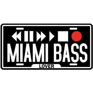 New  Play Miami Bass  License Plate Music