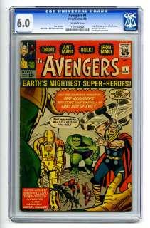 CGC 6.0 Iron Man Thor Hulk Ant Man Lee Kirby Marvel Silver Age Comic