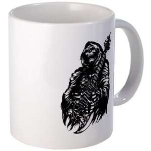 Coffee Drink Cup) Grim Reaper Heavy Metal Rock Player