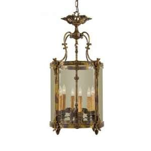 com Metropolitan N2338 OXB Pendant Antique Bronze Patina Clear Glass