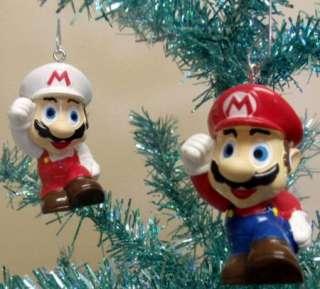 Unique Nintendo Mario Brothers 15 Piece Holiday Christmas Tree