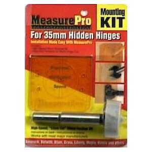 MEASURE PRO For 33mm Hidden Hinges Mounting Kit Home