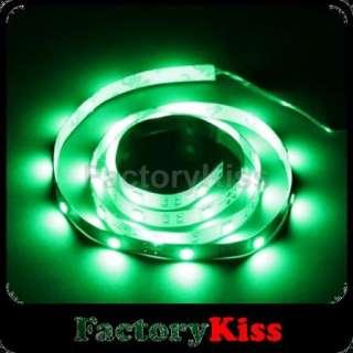 Green 1M 30 LED 5050 SMD Flexible Car DIY Strip Light