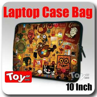 Notebook ipad 2 10 10.1 Laptop Sleeve Bag Case 353