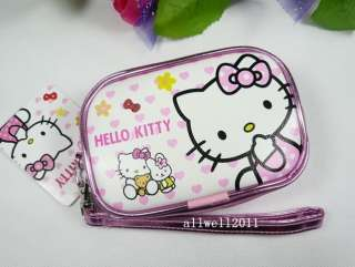 Hello Kitty Camera Bag Coin Pouch Purse Makeup Case for Cell phone
