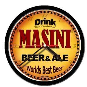 MASINI beer and ale cerveza wall clock: Everything Else
