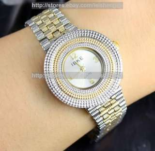 Women Ladys Girl Luxury Reticulation Quart Wrist Watch