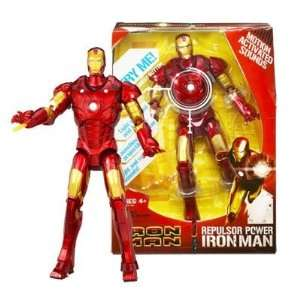 Marvel Comics Iron Man Repulsor Power Action Figure Toys