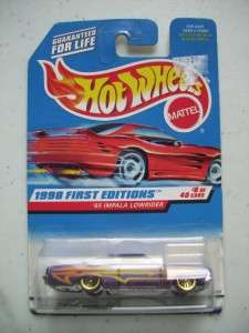 Hot Wheels 1998 First Editions 65 IMPALA LOWRIDER