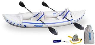 SEA EAGLE 330 Professional 2 Person Inflatable Sport Kayak Canoe Boat