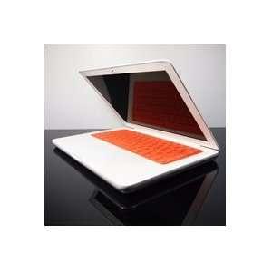 com TopCase Solid ORANGE Keyboard Silicone Cover Skin for Macbook 13