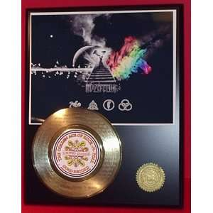 LASER ETCHED WITH SONG LYRICS GOLD RECORD LIMITED EDITION DISPLAY