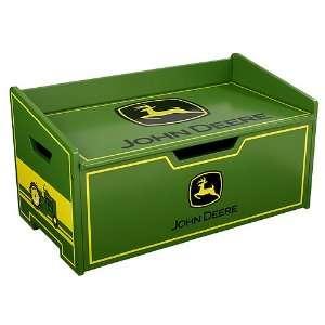 Kidkraft John Deere Boys Green Wooden Toy Chest