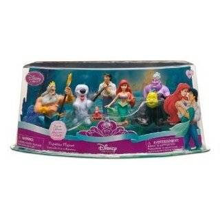 Disney Princess Exclusive Little Mermaid Figure Set   7 pc Ariel