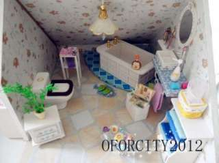 DIY Wooden Doll House Dolls House & Miniatures&furniture LED Light Kit