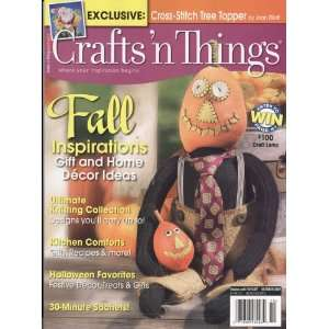 Crafts N Things, October 2007 Issue Books