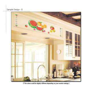 FRUITS KITCHEN DECOR MURAL ART WALL DECAL STICKER VINYL