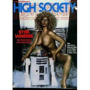 HIGH SOCIETY MAGAZINE october 1977: Gloria Leonard: Books