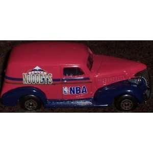 Denver Nuggets 1995 NBA Diecast Chevy Sedan Truck