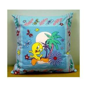 LOONEY TUNES   Tweety   16 REVERSIBLE Throw Pillow
