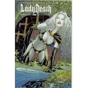 Lady Death Ongoing #11 Auxillary Cover: Brian Pulido: