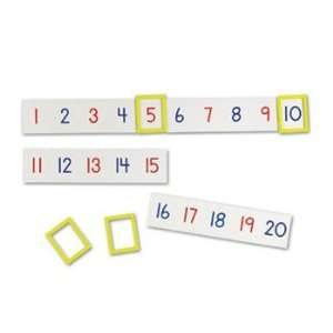 4 Pack LEARNING RESOURCES MAGNETIC NUMBER LINE Everything