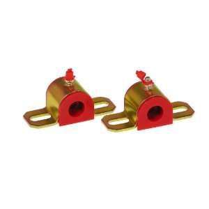 Red 11/16 Universal Greasable Sway Bar Bushing fits A Style Bracket