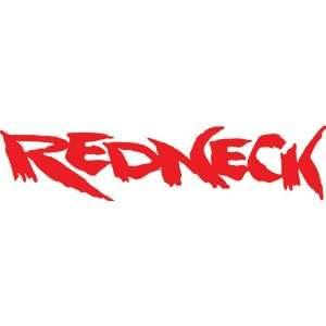 Redneck (Red) 6x20 Vinyl Decal: Automotive
